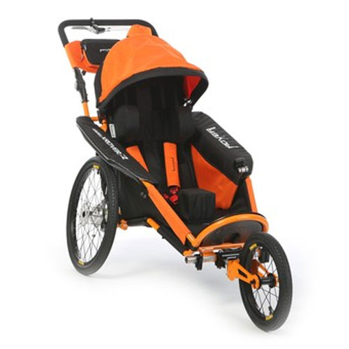 xRover outdoor stroller in orange