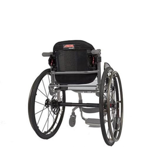 ADI backrest on wheelchair