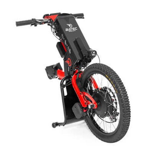 Batec electric handbike in red