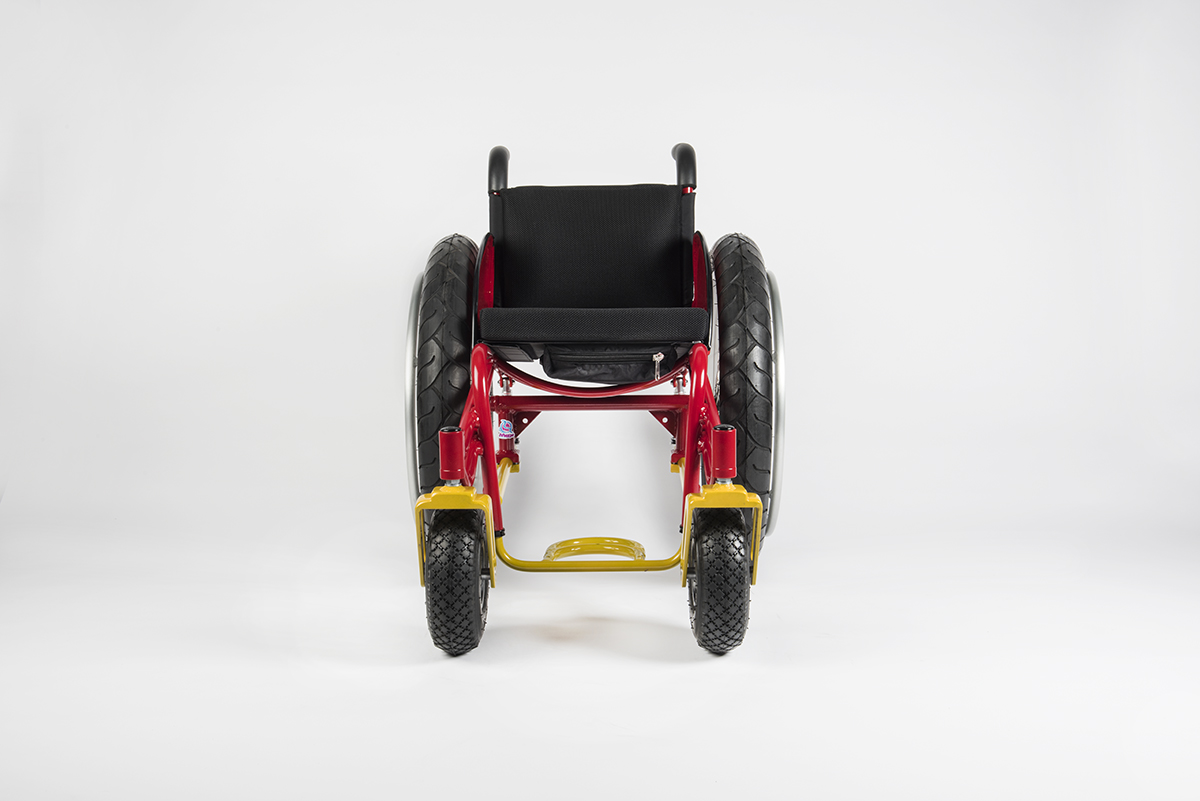 BOx wheelchairs front view